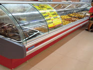 China Ice Cream Supermarket Projects Frige Equipments For Fruits / Meat factory