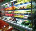 China Energy Saving Multideck Open Chiller , Grocery Fruit and Vegetable Display Showcase factory