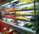 China Supermarket Open Chiller/upright Commercial Refrigerator For Fruit  factory