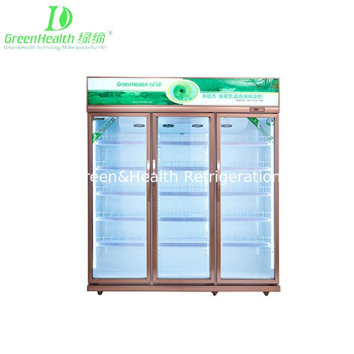 Green Health Double Glass Door Pepsi Commercial Beverage Cooler