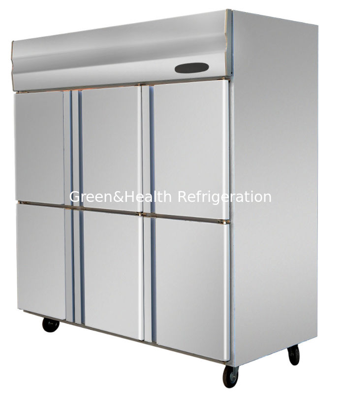 Commercial Stainless Steel Upright Freezers For Restaurant