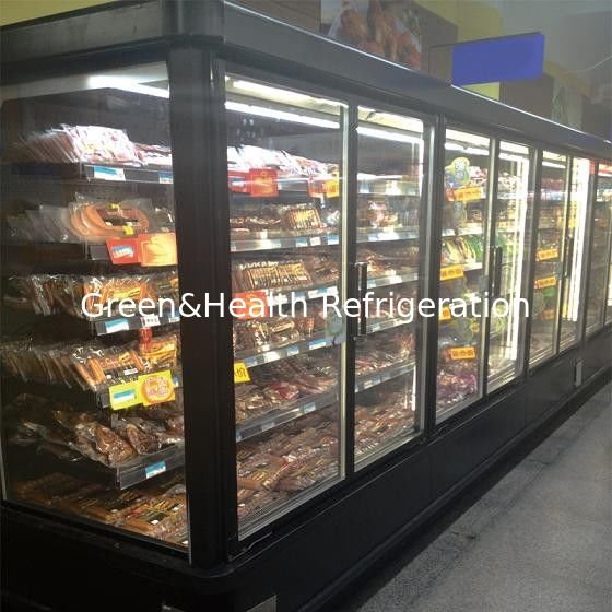 Artistic curved upright glass door freezer 12 doors automatic defrost planetlyrics Gallery