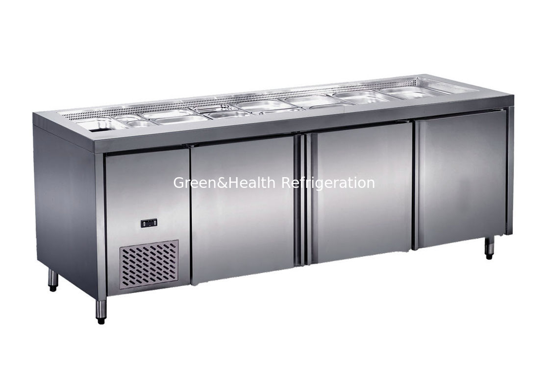 Silver Undercounter Refrigerator 0 176 C 10 176 C Top With Trays