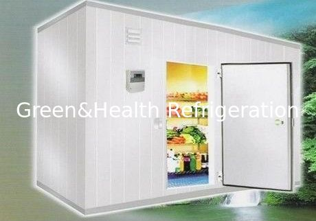 Cold Room Storage 105 Cubic Meter 6m * 7m * 2.5m With Valley Wheel Compressor
