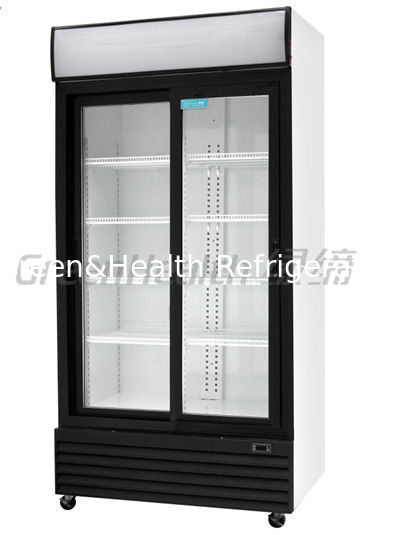 china led t5 light commercial upright freezer glass door with tecumseh compressor supplier