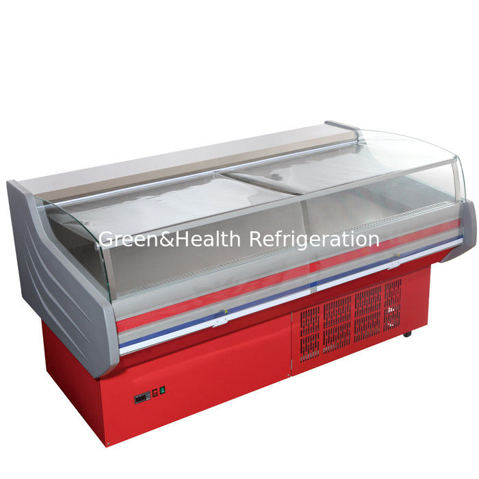 Store Frost Free Meat Display Refrigerator Counter Ce Rohs