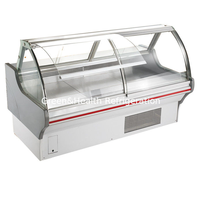 Commercial Fresh Food Deli Display Refrigerator Open Front