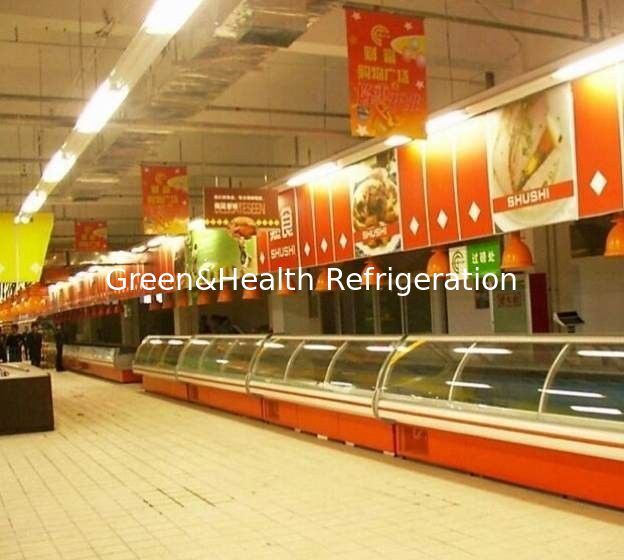Eco Friendly Supermarket Projects Refrigerator Auto Defrost