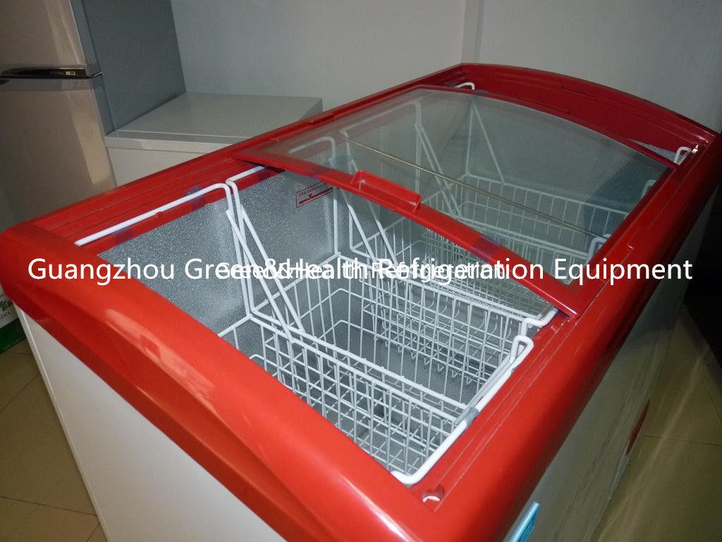 Double Door Propane Chest Deep Freezers Compact With