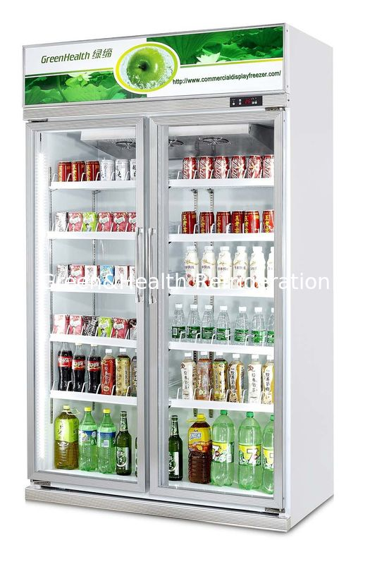 Single Door Commercial Beverage Cooler For Convenience Grocery Store