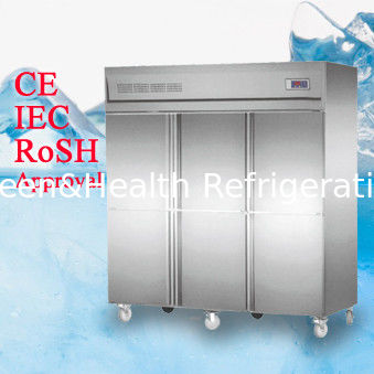 Deep Commercial Upright Freezer 1600l 6 Glass Doors With