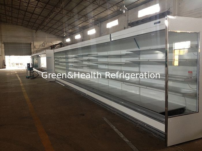 Customize Adjustable Multideck Open Chiller Beverage