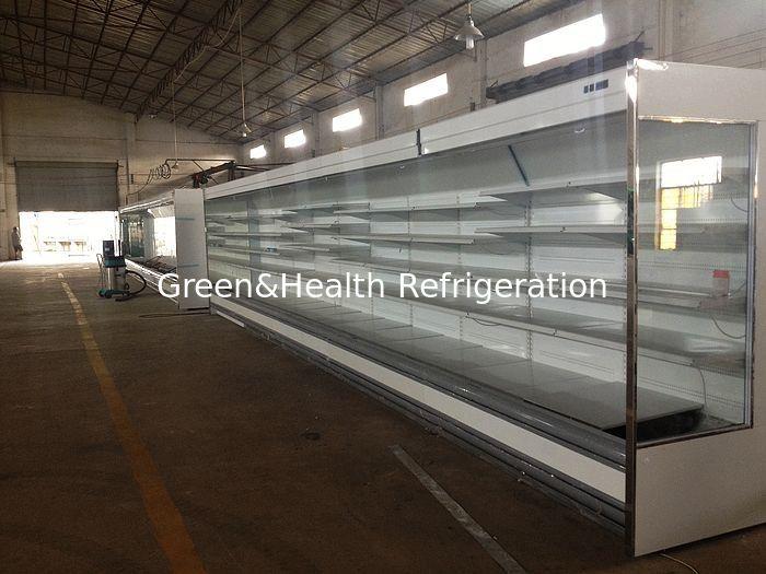 Multideck Open Chiller Refrigerator Showcase For