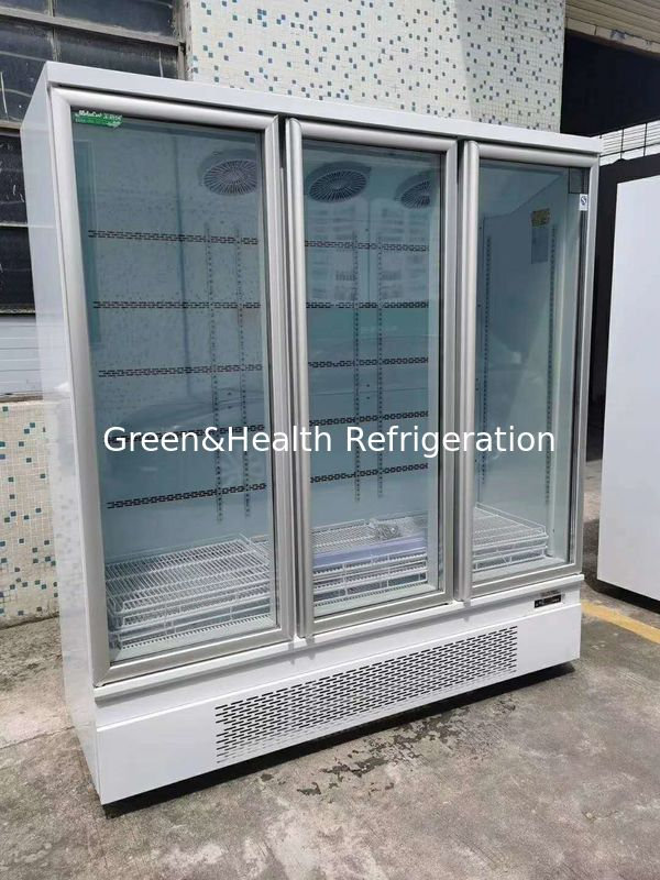 Automatic Defrosting Vertical Freezer For Convenient Shop