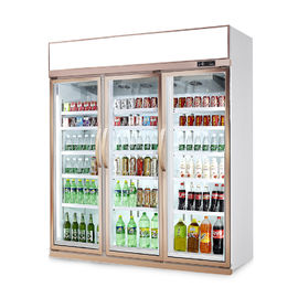 -18~-22 ℃ Commercial Display Freezer For Shop 5 Layers Or Adjustable