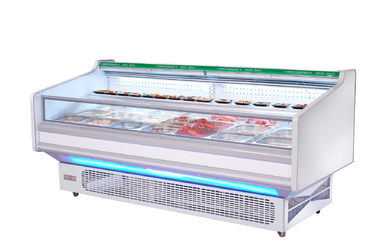Commercial Meat Refrigeratior Showcase With Panosonic / Aspera / Danfoss Compressor