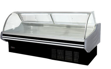 Commercial Serve Over Counter Deli Display Refrigerator / Cold Food Fresh Meat Display Freezer Showcase