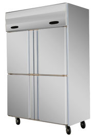 0 ~ 10°C - 18°C ~ -20°C Kitchen Commercial Refrigerator Freezer With Danfoss Compressor