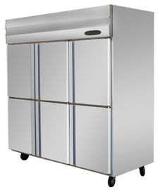 Commercial Stainless Steel Upright Freezers For Restaurant , Resturant Freezer