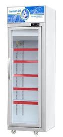 Supermarket Commercial Upright Meat Display Freezer For Frozen Food With Glass Door