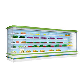 R404a Multideck Open Chiller For Beverage Drinks / Chilled Display Cabinet