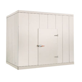 75 / 100 / 120mm Thickness Cold Storage Room For Restaurant / Walk In Meat Cooler