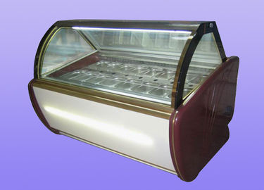 Ice Cream Display Fridges 20 Pans -22°C - 18°C Energy Saving