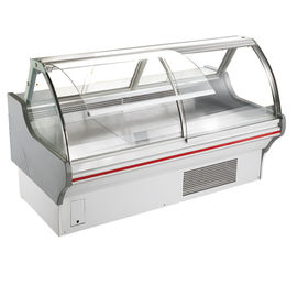 Commercial Fresh Food Deli Display Refrigerator Open Front For Restaurant
