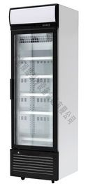 5 Layers 360L Commercial Supermarket Display Freezer Plastic Coated Steel