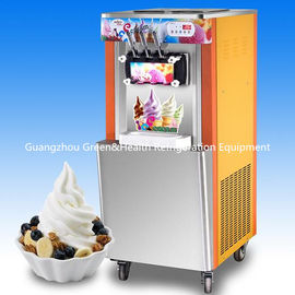 Beautiful Appearance Ice Cream Making Machines / Ice Cream Maker With Hopper Agitator