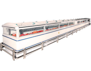 Prefabricated Supermarket System Project Intelligent With kinds of Freezers