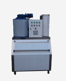R404A Refrigerant Commercial Flake Ice Maker With 200KG 1 / 2 / 3 Ton Capacity