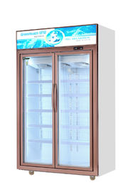 China 795L Commercial Beverage Cooler / Upright Glass Door Refrigerator factory