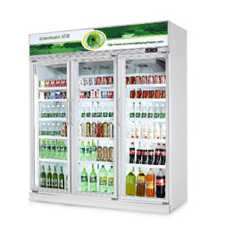 China Commercial Fresh Vegetable Upright Beverage Cooler Air Cooling R134a factory