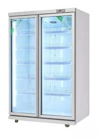 China Air Cooling Soft Drink Upright Display Cooler Commercial  220v 60hz factory