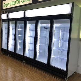 China Commercial Glass Display Refrigerator Multi - Climate Type For Ice Cream factory