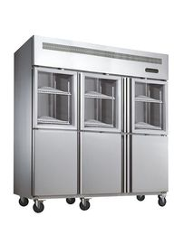 China 1600L Commercial Upright Freezer Restaurant Kitchen Fridge Equipment factory