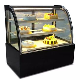 Green & Health Commercial Cake Display Cooler With Front Or Back Sliding Door
