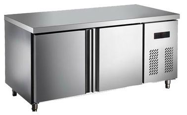 China Commercial Display Salad Refrigerator Showcase , Catering Under Counter Four Door Fridge factory