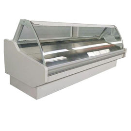 China Hypermarket Deli And Fresh Meat Refrigerator Air Duct Structure Temperature 2℃-8℃ factory