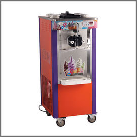 3 Flavors Soft Serve Ice Cream Making Machine With Stainless Steel 1 Year Warranty