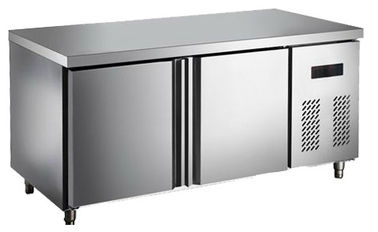 2 Or 3 Doors Chicken Under Counter Fridge With Stainless Steel Cooper Tube