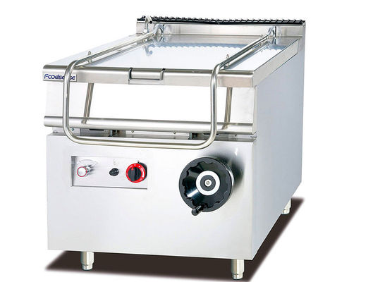 SS 120KG Liquefied Gas Standing Oven With Removeable Door