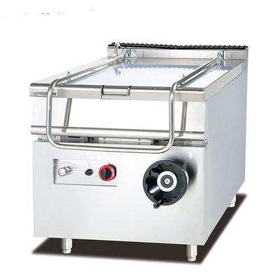 Removeable Door Stainless Steel Gas Commercial Tilting Braising Pan