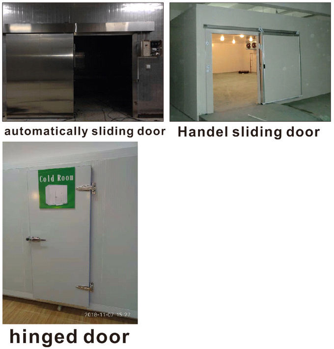 50mm Panel Thickness Cold Storage Room With Split Type Condensering Unit For Frozen Food