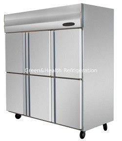 Vertical Commercial Upright Freezer With Big Capacity R134 / R404 Refrigerant
