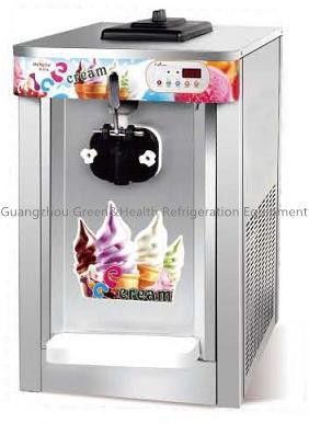 Commercial Soft Sever Ice Cream Making Machines With 1 / 3 Favors 60 / 50Hz