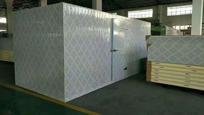 R404a Refrigerant Shop Cold Storage Freezer For Seafood 1 Year Warranty
