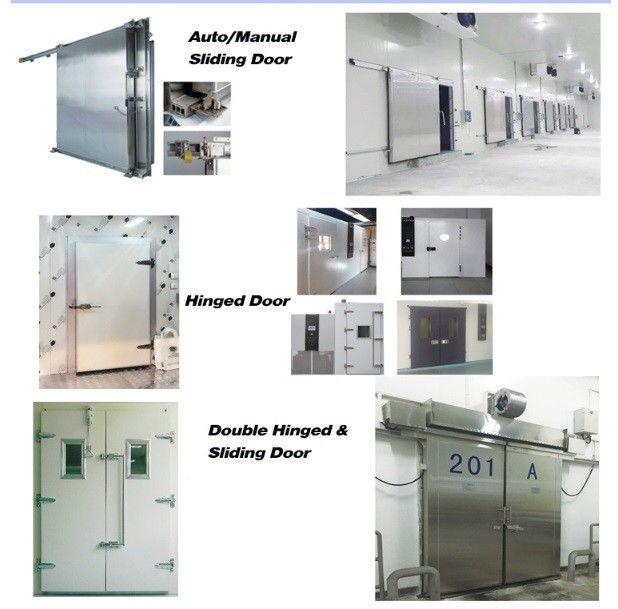 Air Cooling Mini Vegetable Cold Storage Room / Quick - Freezing Walk In Chiller Rooms